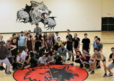 GFSS Grade 8 and Senior PE Class