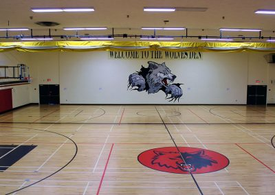 GFSS Gymnasium Mural