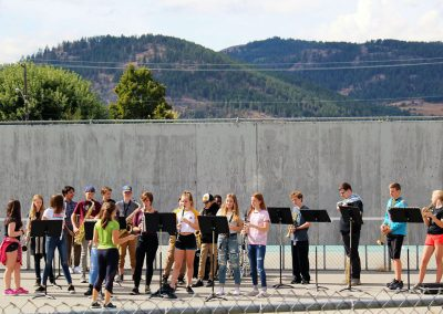 GFSS Terry Fox Run Band Class